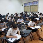 TOEIC Pre- Test สำหรับ นักศึกษาหลักสูตรภาษาอังกฤษ และหลักสูตรภาษาอังกฤษธุรกิจ คณะมนุษยศาสตร์และสังคมศาสตร์